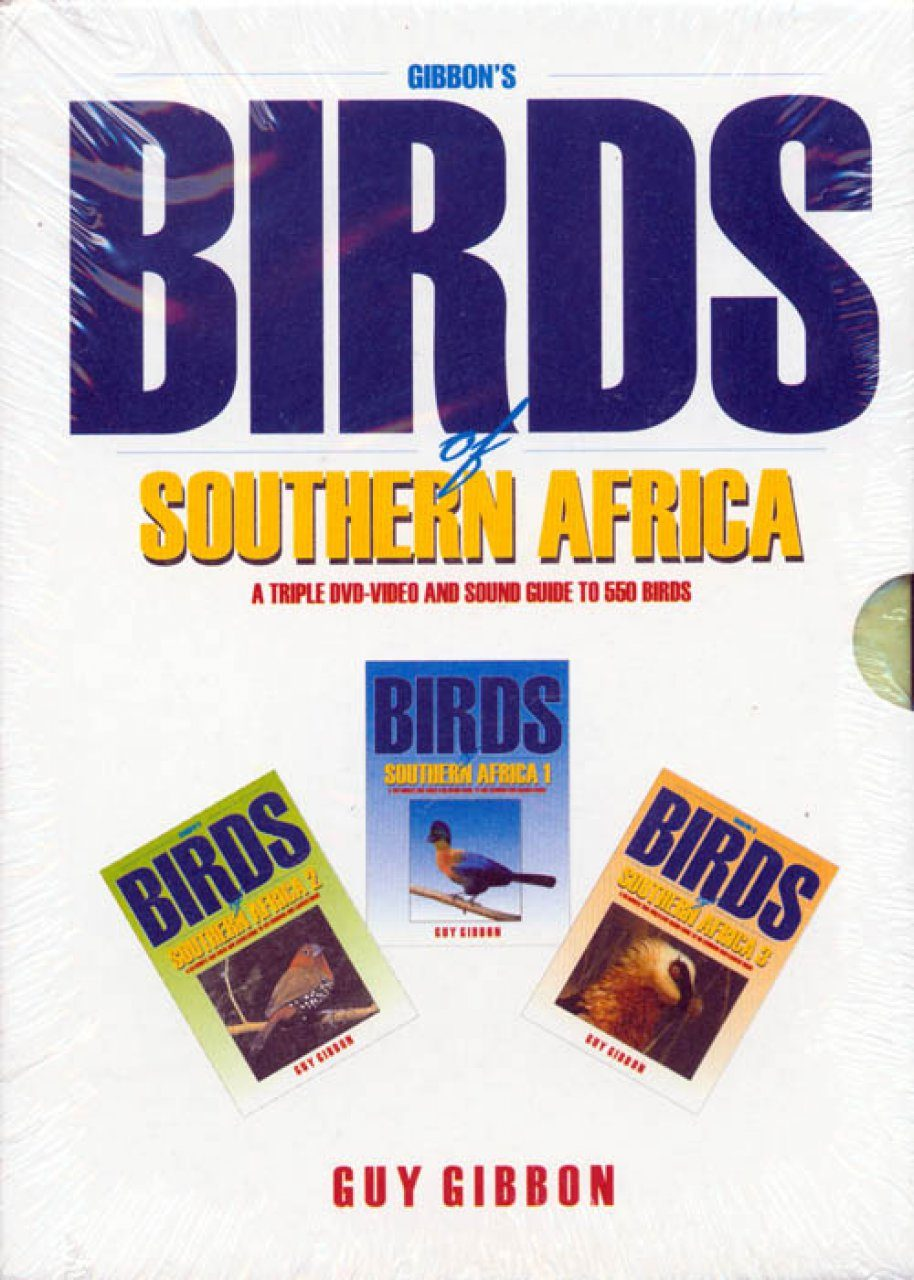 Gibbon's Birds of Southern Africa (3DVD)
