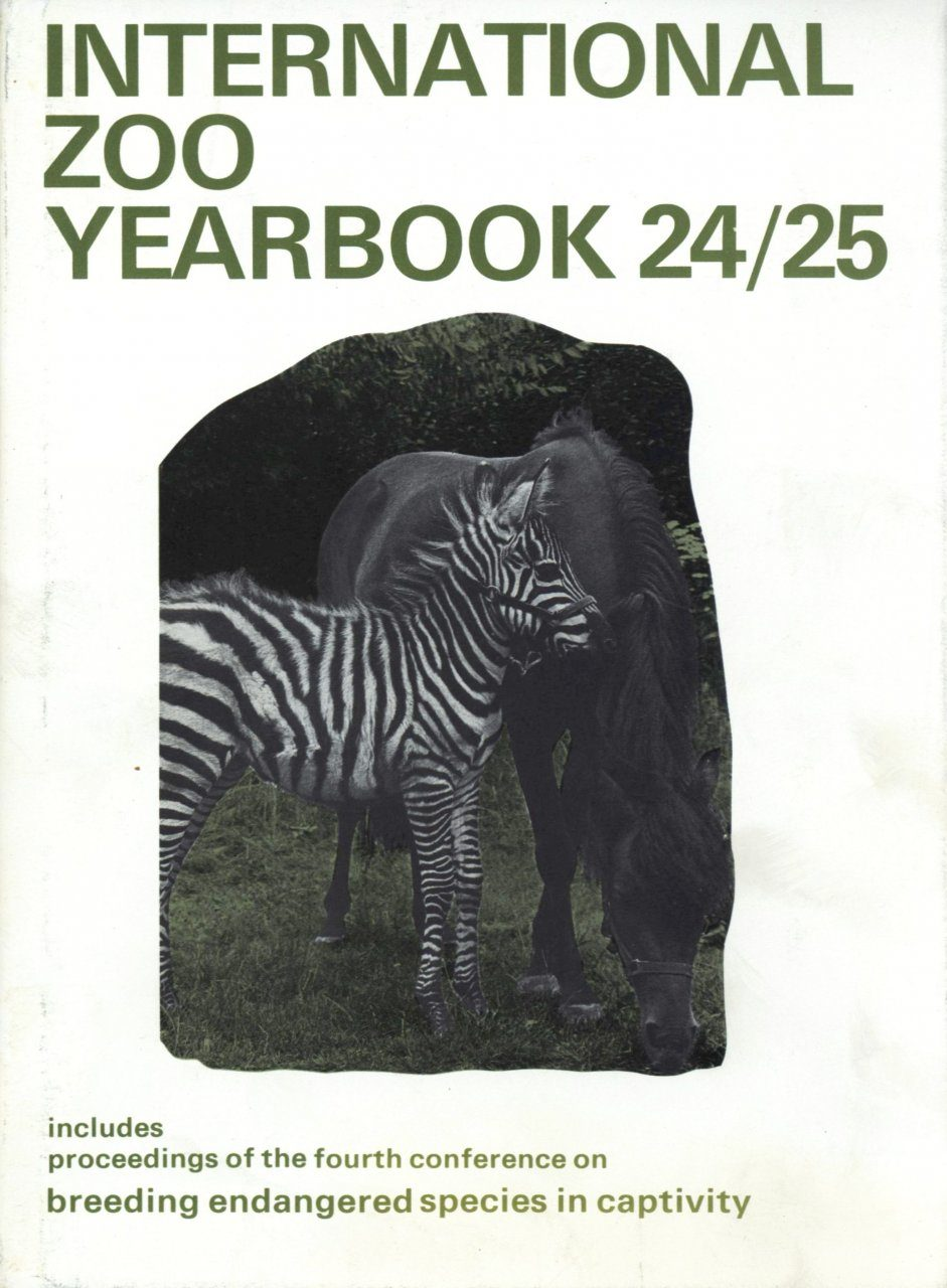 International Zoo Yearbook 24/25: Breeding Endangered Species in Captivity