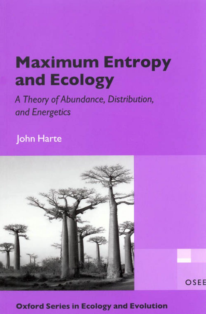 Maximum Entropy and Ecology