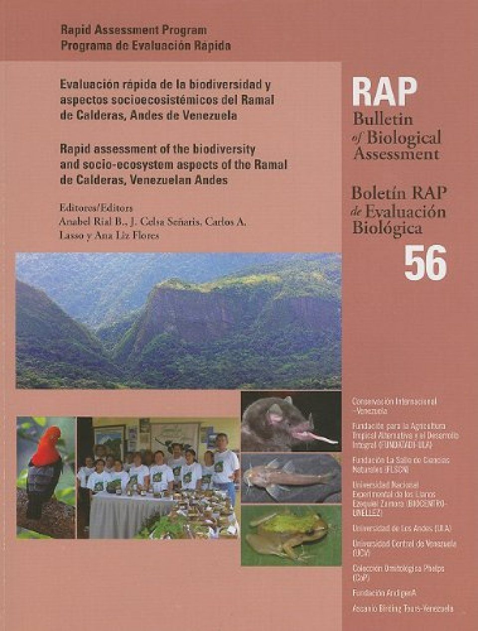 A Rapid Assessment of the Biodiversity and Socio-ecosystem Aspects of the Ramal De Calderas, Venezuelan Andes