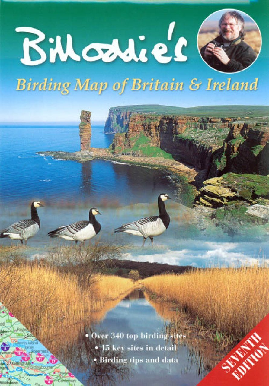 Bill Oddie's Birding Map of Britain and Ireland