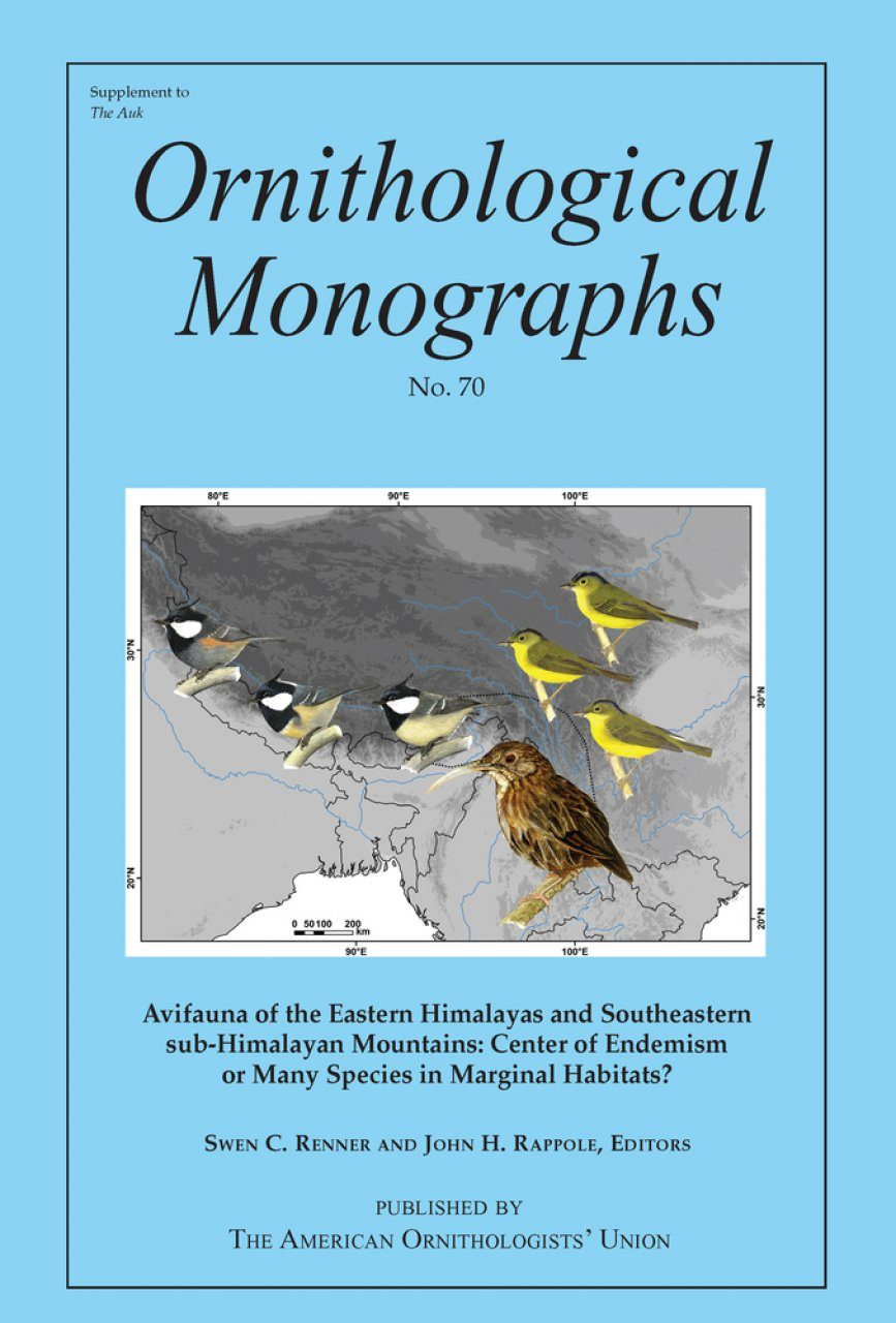 Avifauna of the Eastern Himalayas and Southeastern Sub-Himalayan Mountains