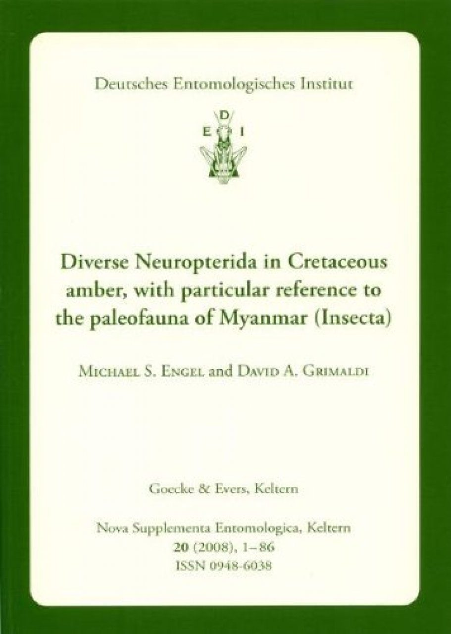 Diverse Neuropterida in Cretaceous Amber, with particular reference to the Paleofauna of Myanmar
