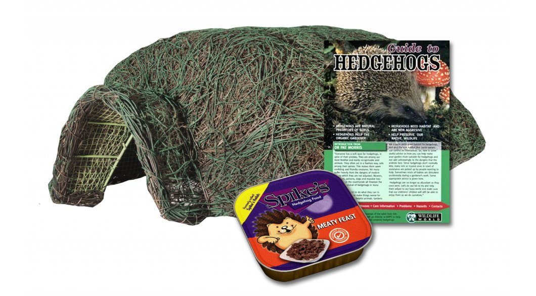 Hogitat Hedgehog House and Care Pack