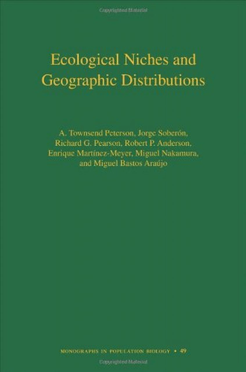 Ecological Niches and Geographic Distributions