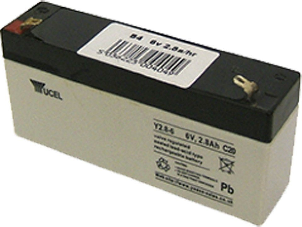 Cluson 6V 2.8 Ah Battery for CLU10 and CLU11 (B4)