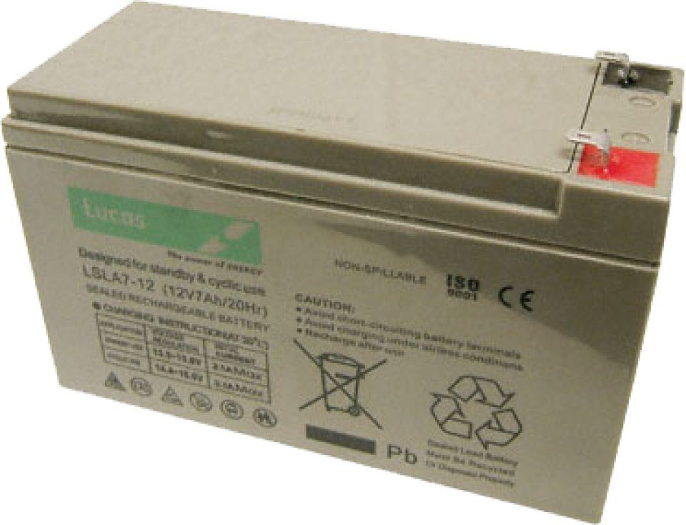 Lucas Rechargeable 12V 7Ah Battery