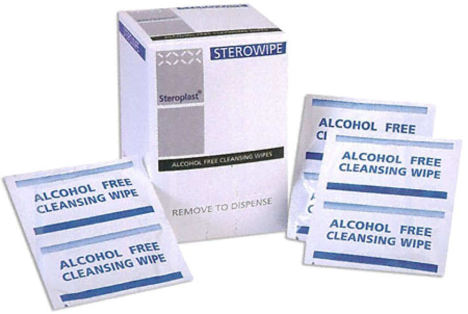 Alcohol-Free Cleansing Wipes