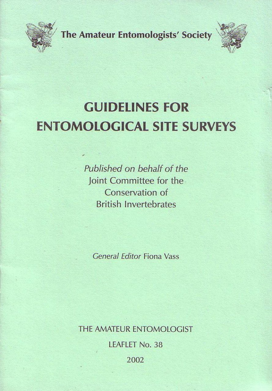 Guidelines for Entomological Site Surveys