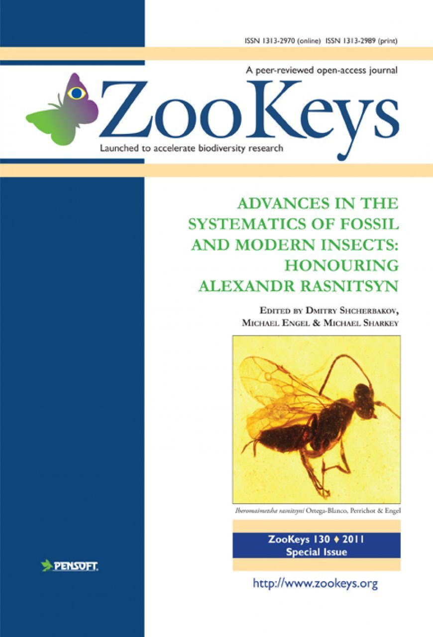 ZooKeys 130: Advances in the Systematics of Fossil and Modern Insects: Honouring Alexandr Rasnitsyn