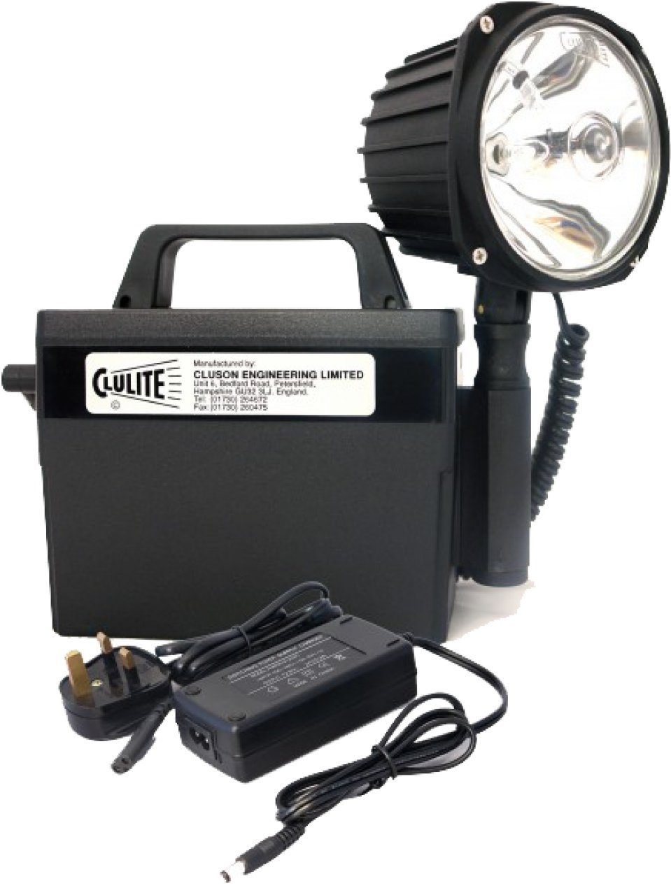 Cluson CB2-L2 Clubman Deluxe Li-Ion 17.6Ah High-Power Lamp/Torch