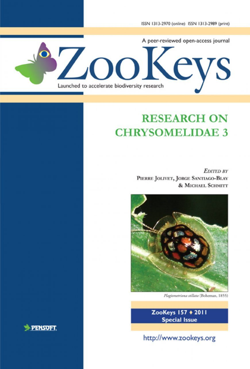 ZooKeys 157: Research on Chrysomelidae, Volume 3