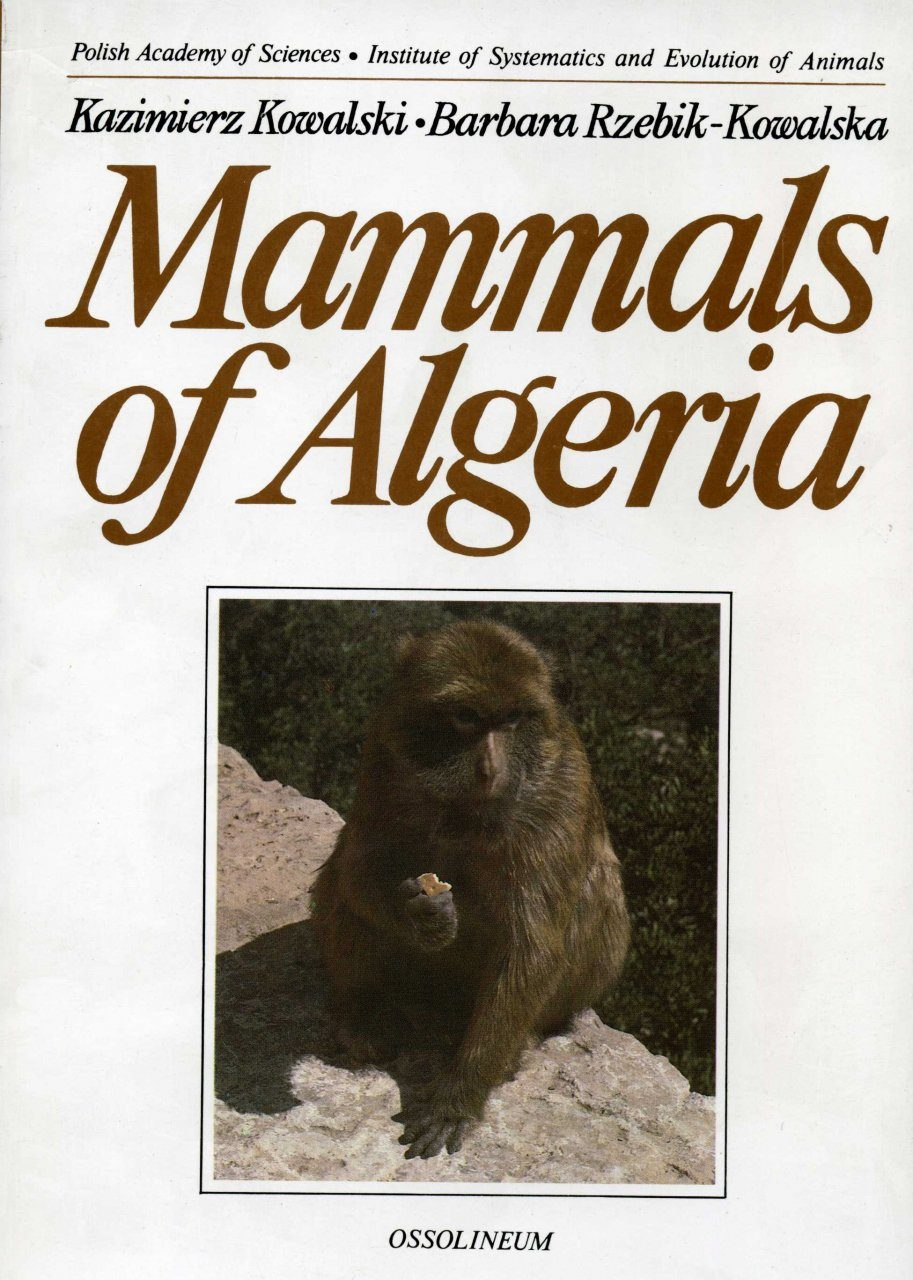 Mammals of Algeria