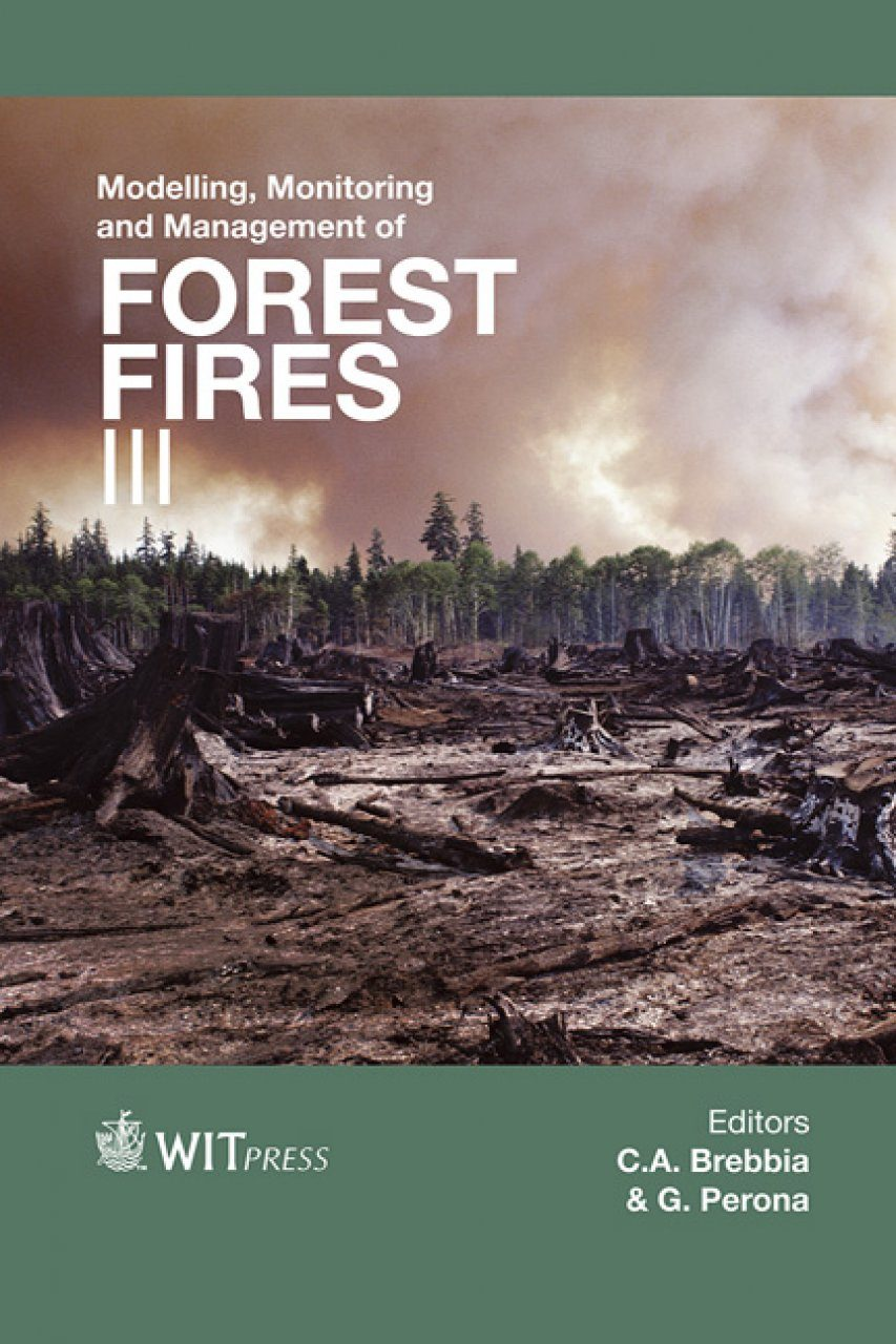 Modelling, Monitoring and Management of Forest Fires III