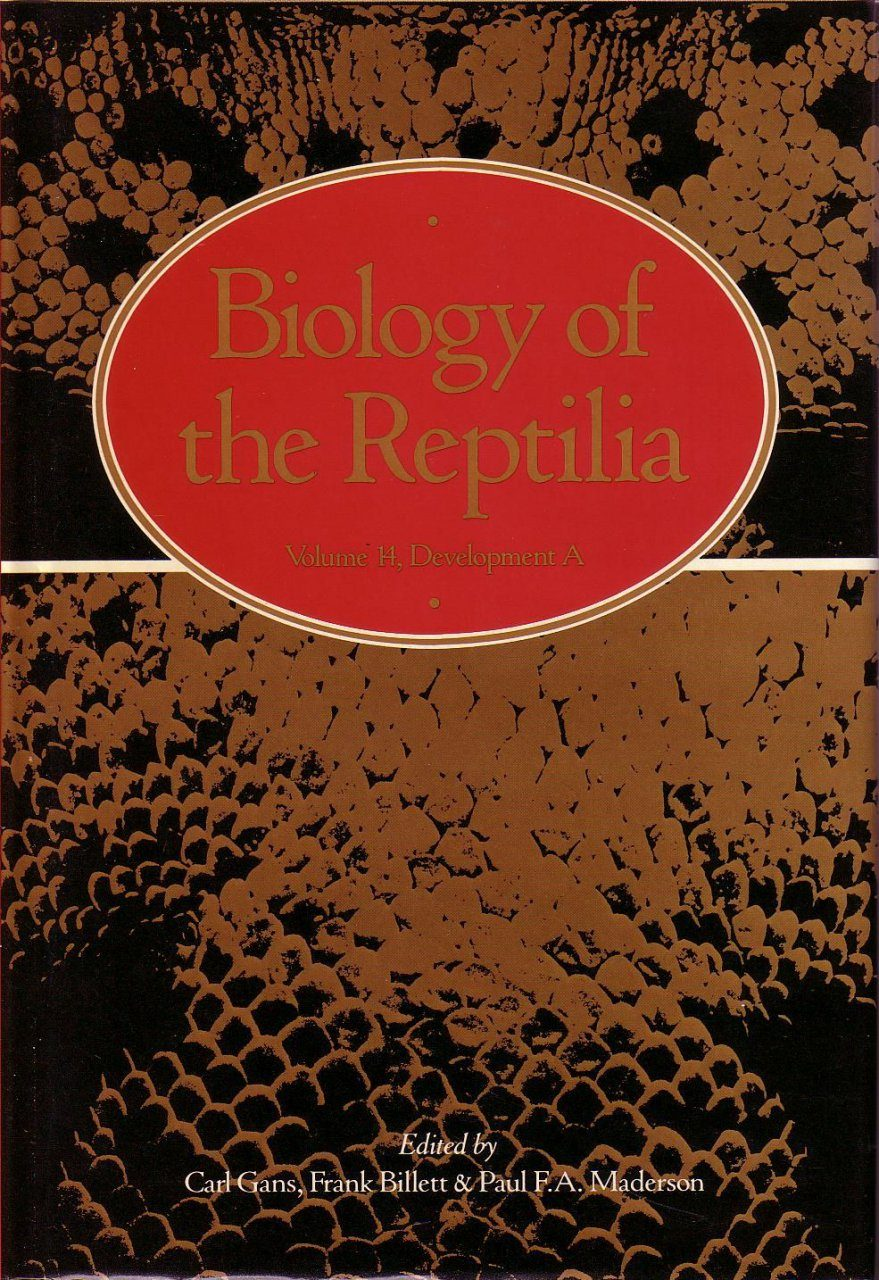 Biology of the Reptilia, Volume 14, Development A