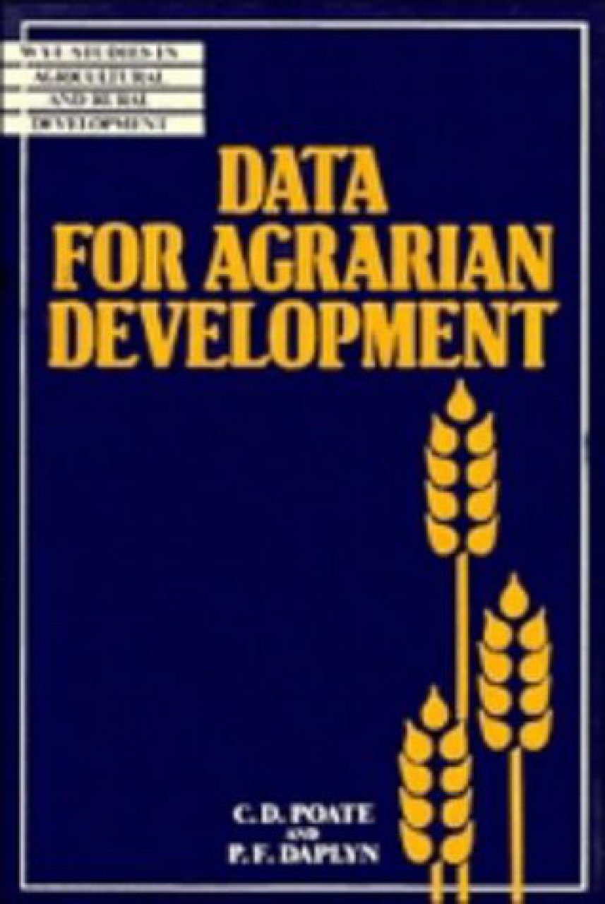 Data for Agrarian Development