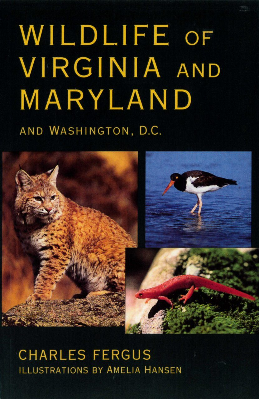 Wildlife of Virginia and Maryland and Washington D.C.