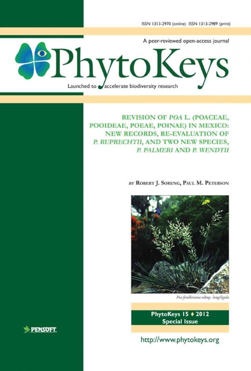 PhytoKeys 15: Revision of Poa L. (Poaceae, Pooideae, Poeae, Poinae) in Mexico
