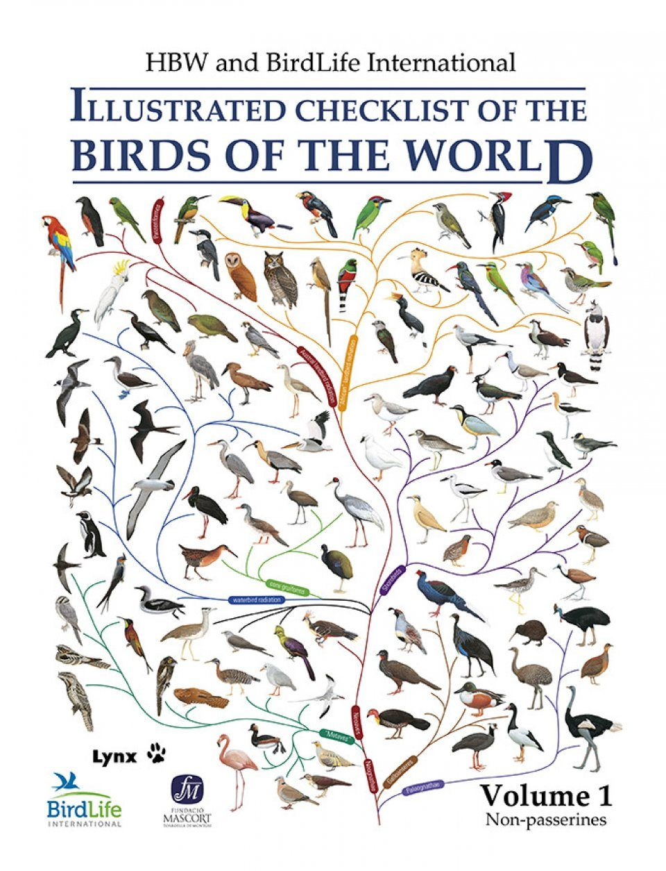 HBW and Birdlife International Illustrated Checklist of the Birds of the World, Volume 1