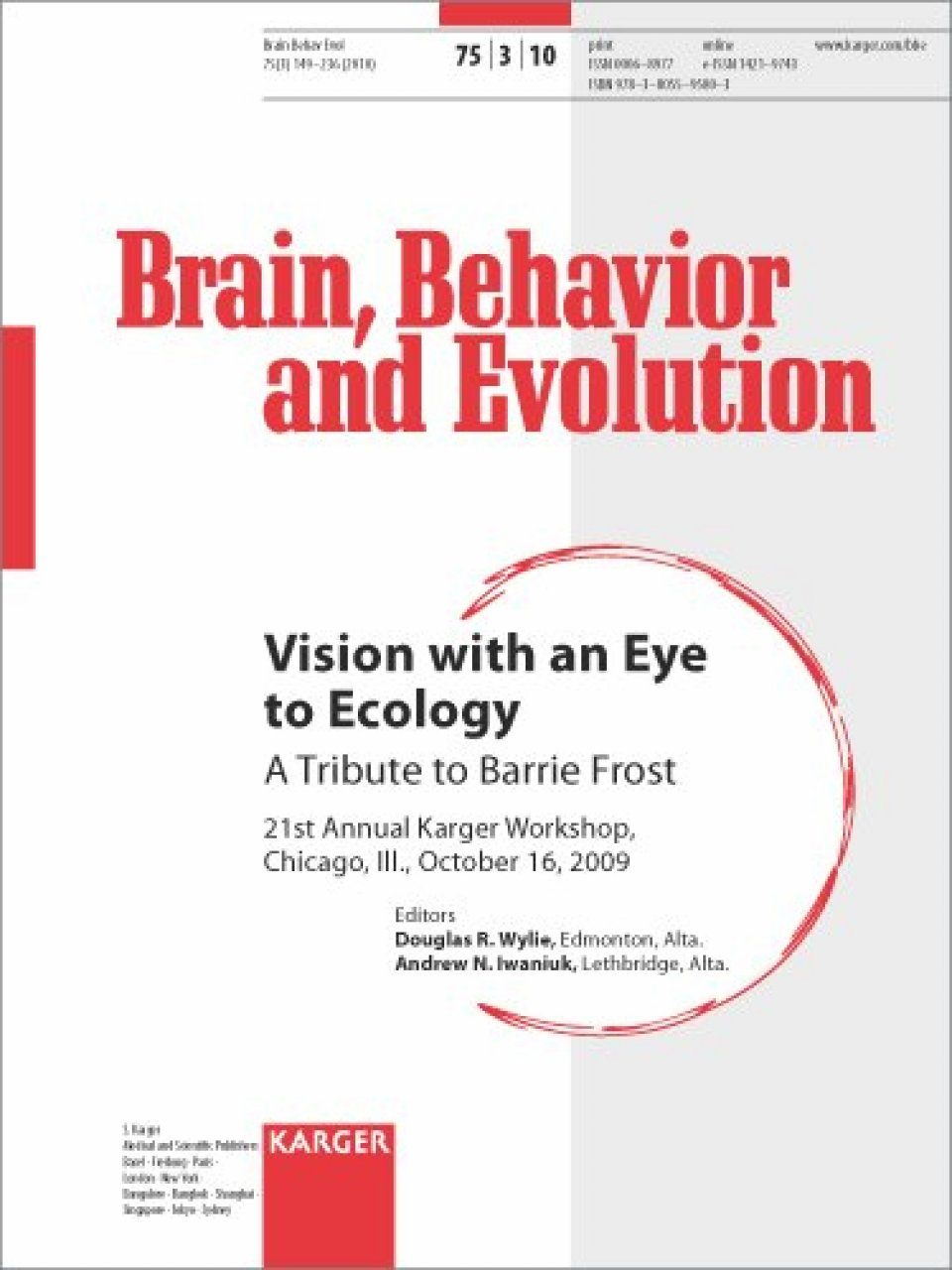 Vision with an Eye to Ecology