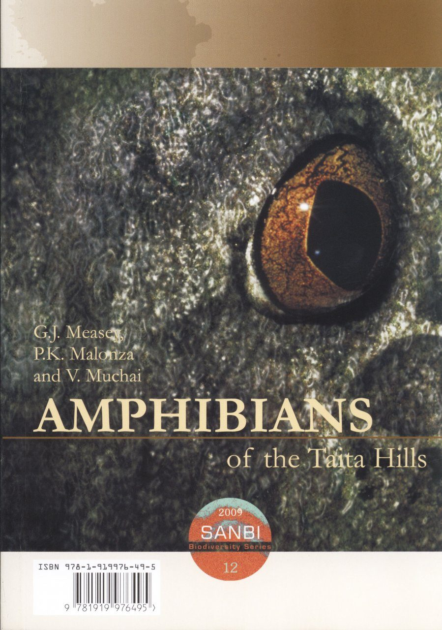 Amphibians of the Taita Hills