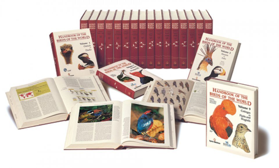 Handbook of the Birds of the World (16-Volume Set + Special Volume)