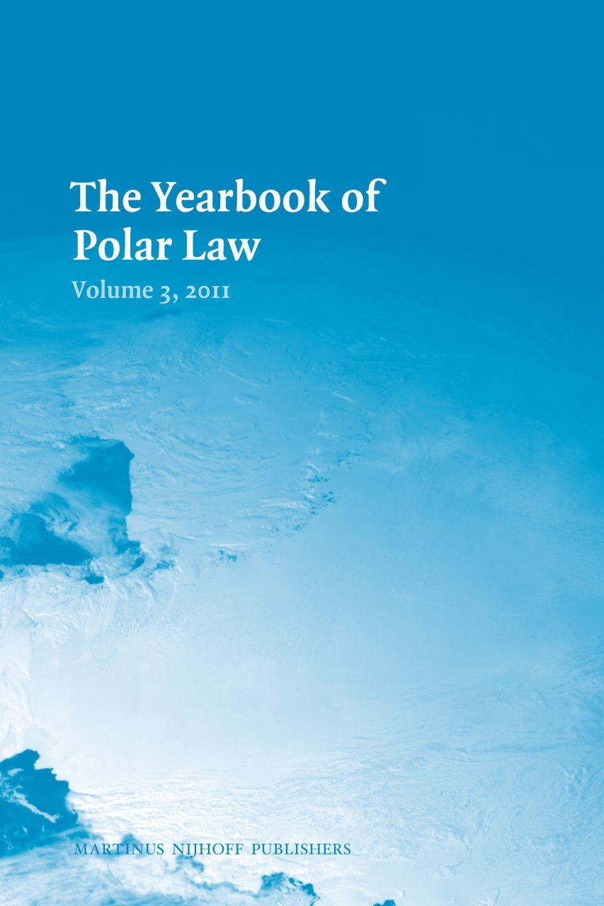 The Yearbook of Polar Law, Volume 3