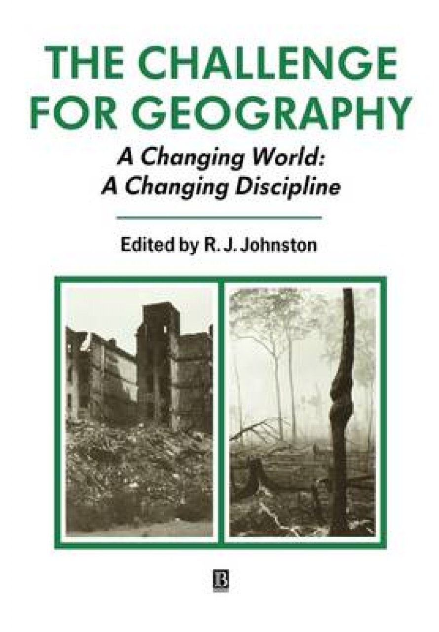 The Challenge for Geography