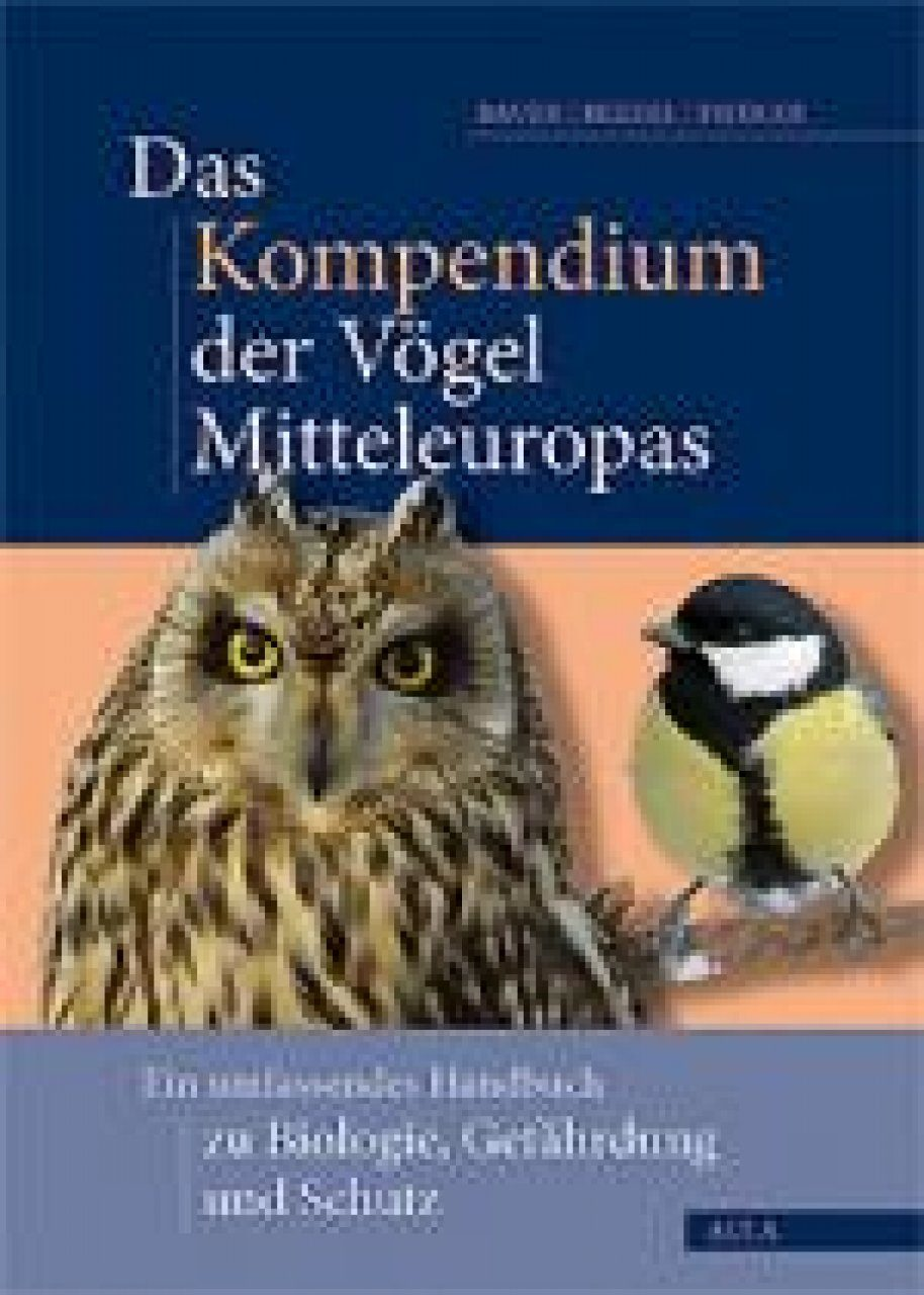 Das Kompendium der Vögel Mitteleuropas (3-Volume Set): Ein Umfassendes Handbuch zu Biologie, Gefährdung und Schutz [The Compendium of Birds of Central Europe: A Comprehensive Guide to Biology, Threats and Conservation]