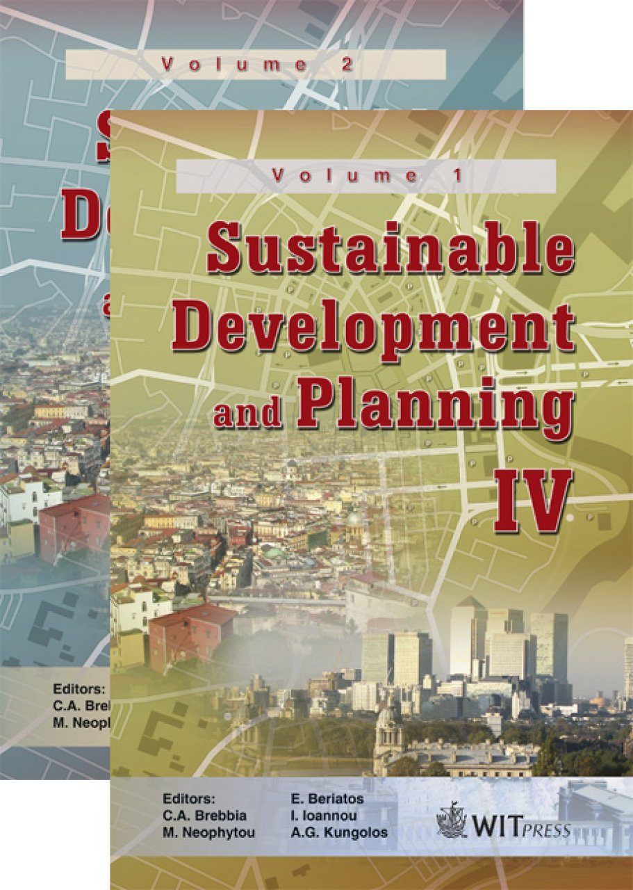Sustainable Development and Planning IV (2-Volume Set)