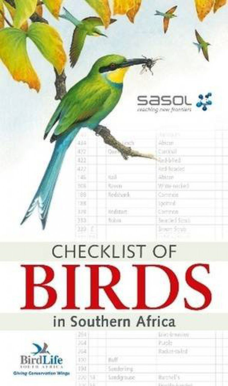 Sasol Checklist of Birds in Southern Africa