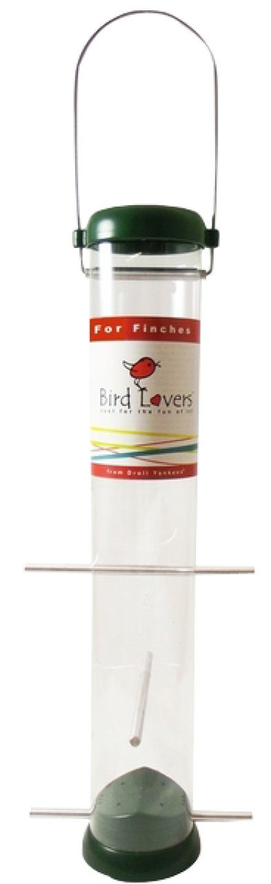 Droll Yankees Bird Lovers Finch Feeder For Niger Seeds