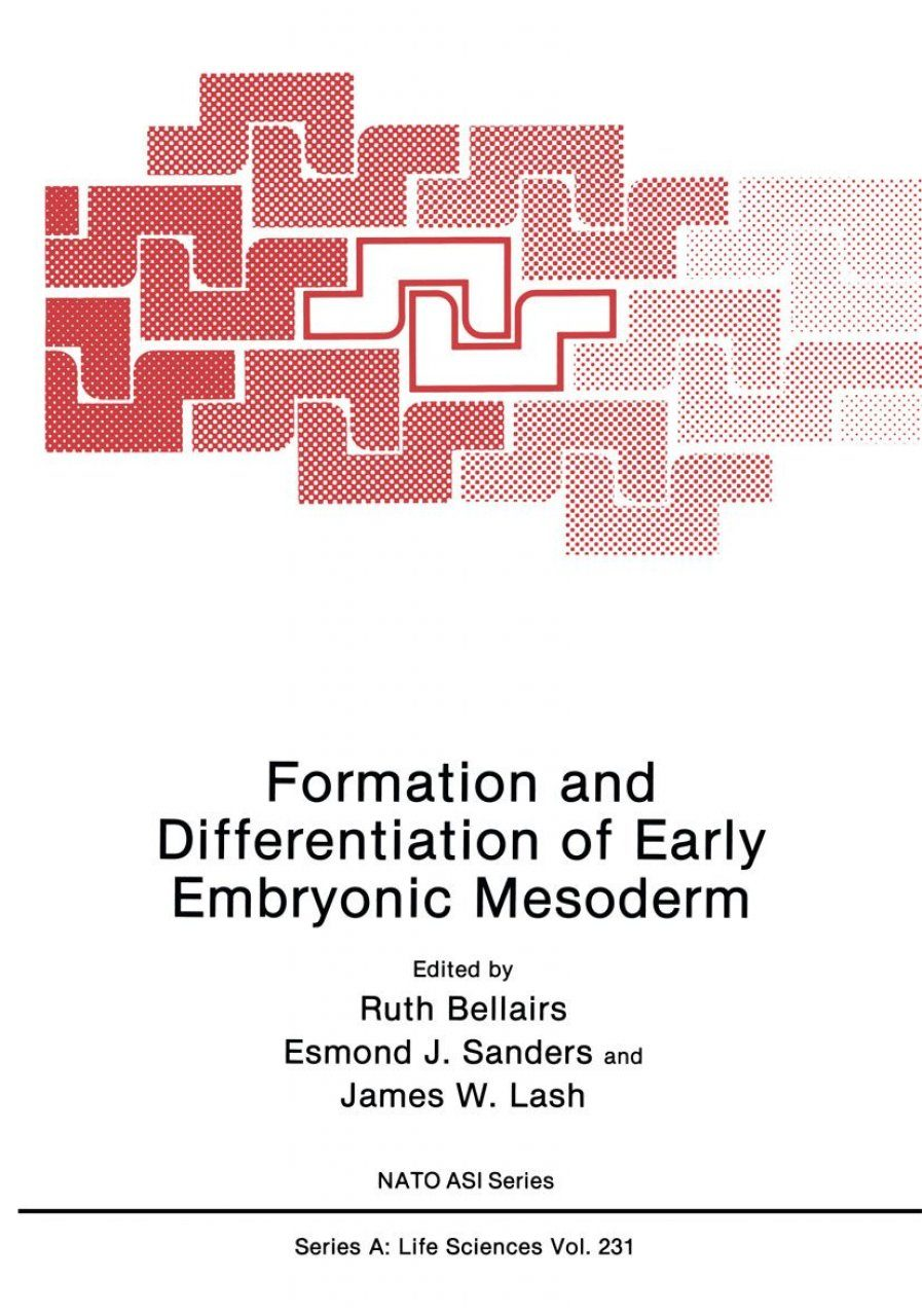Formation and Differentiation of Early Embryonic Mesoderm