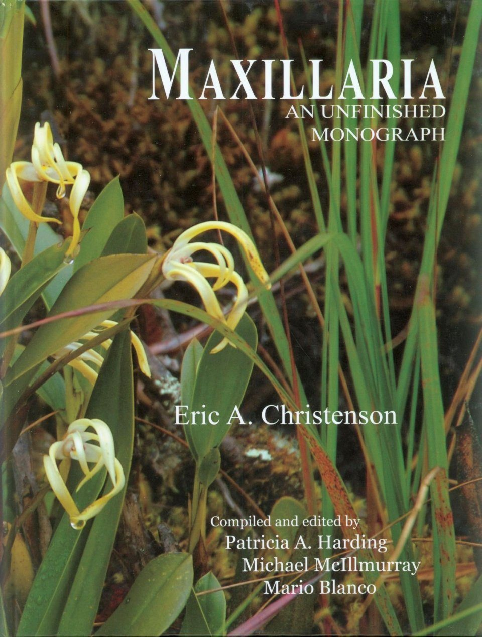 Maxillaria: An Unfinished Monograph (2-Volume Set)