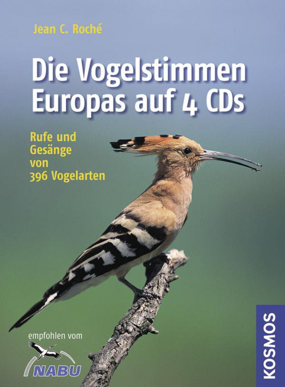 Die Vogelstimmen Europas: Rufe und Gesänge von 396 Vogelarten [Bird Songs and Calls of Britain and Europe] (4CD)
