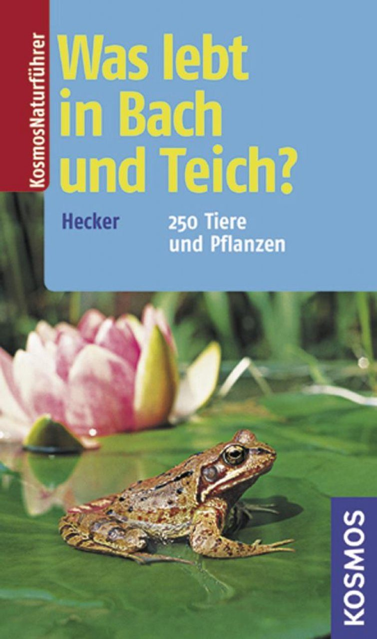 Was Lebt in Bach und Teich?: 250 Tiere und Pflanzen [What Lives in the Creek and Pond?: 250 Animals and Plants]