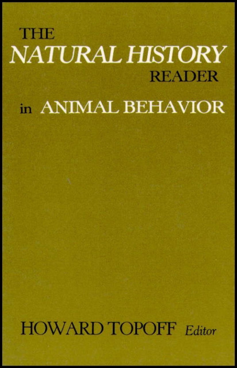 The Natural History Reader in Animal Behaviour