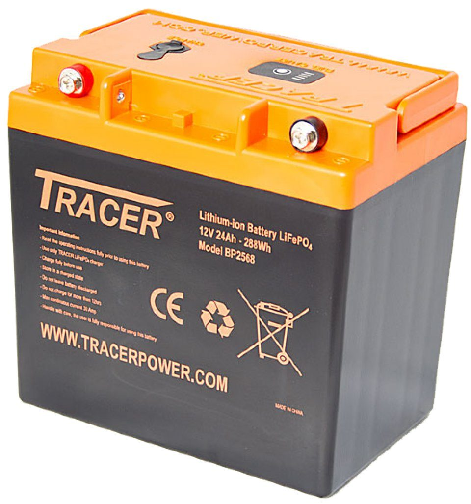 12V 24Ah Lithium Ion Phosphate Battery Pack