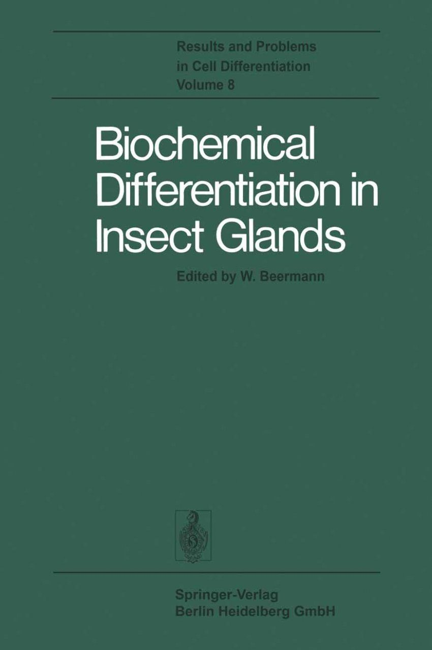 Biochemical Differentiation in Insect Glands