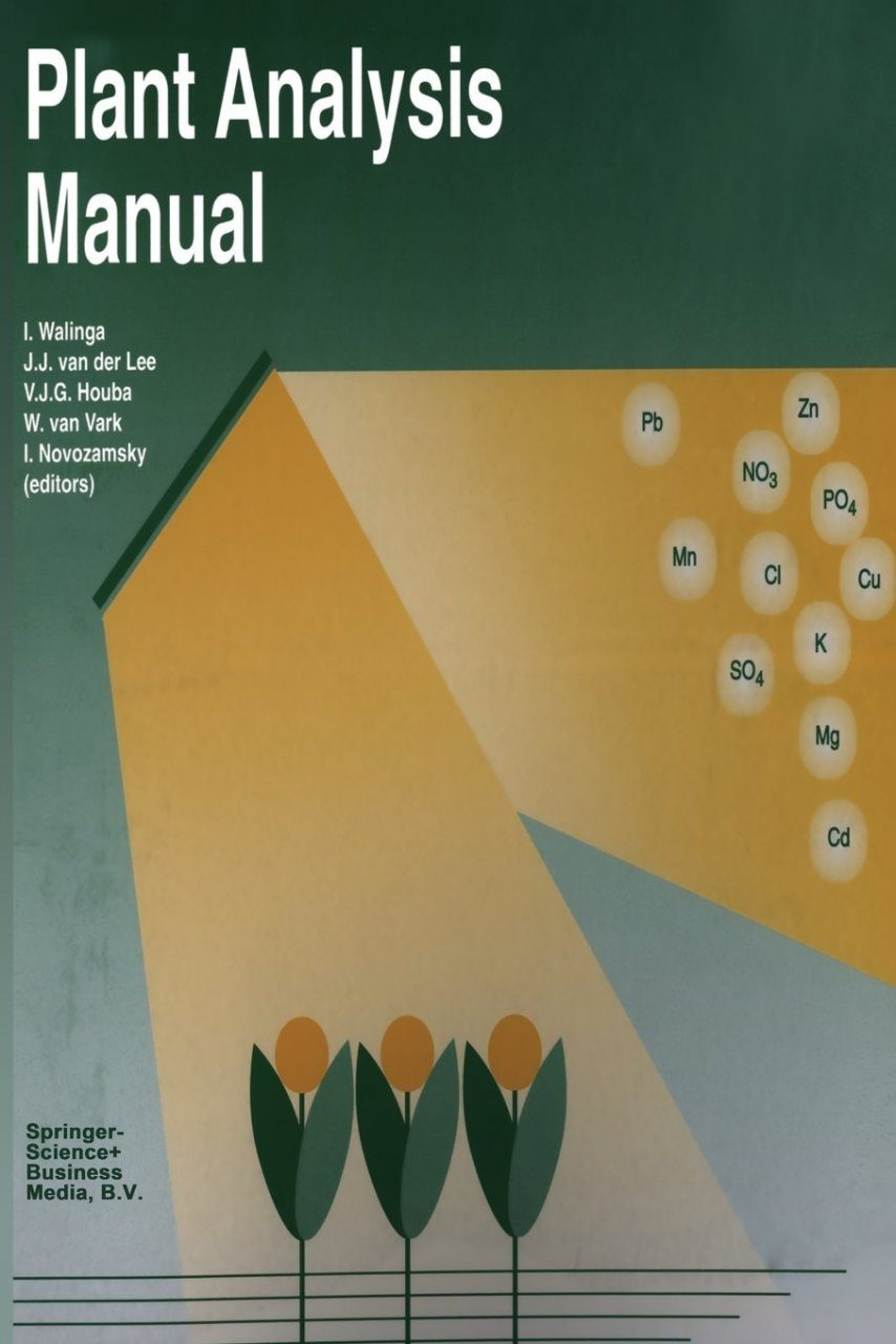 Plant Analysis Manual