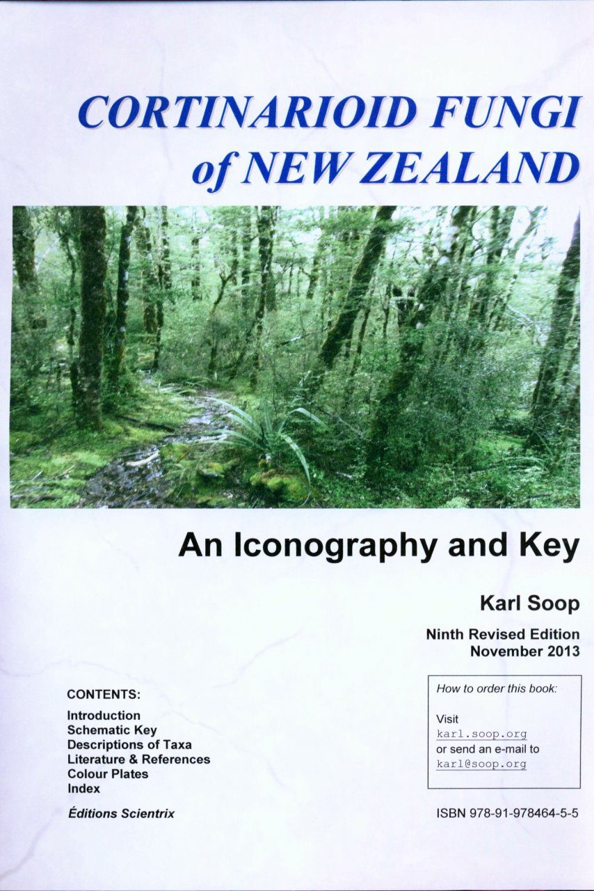 Cortinarioid Fungi of New Zealand