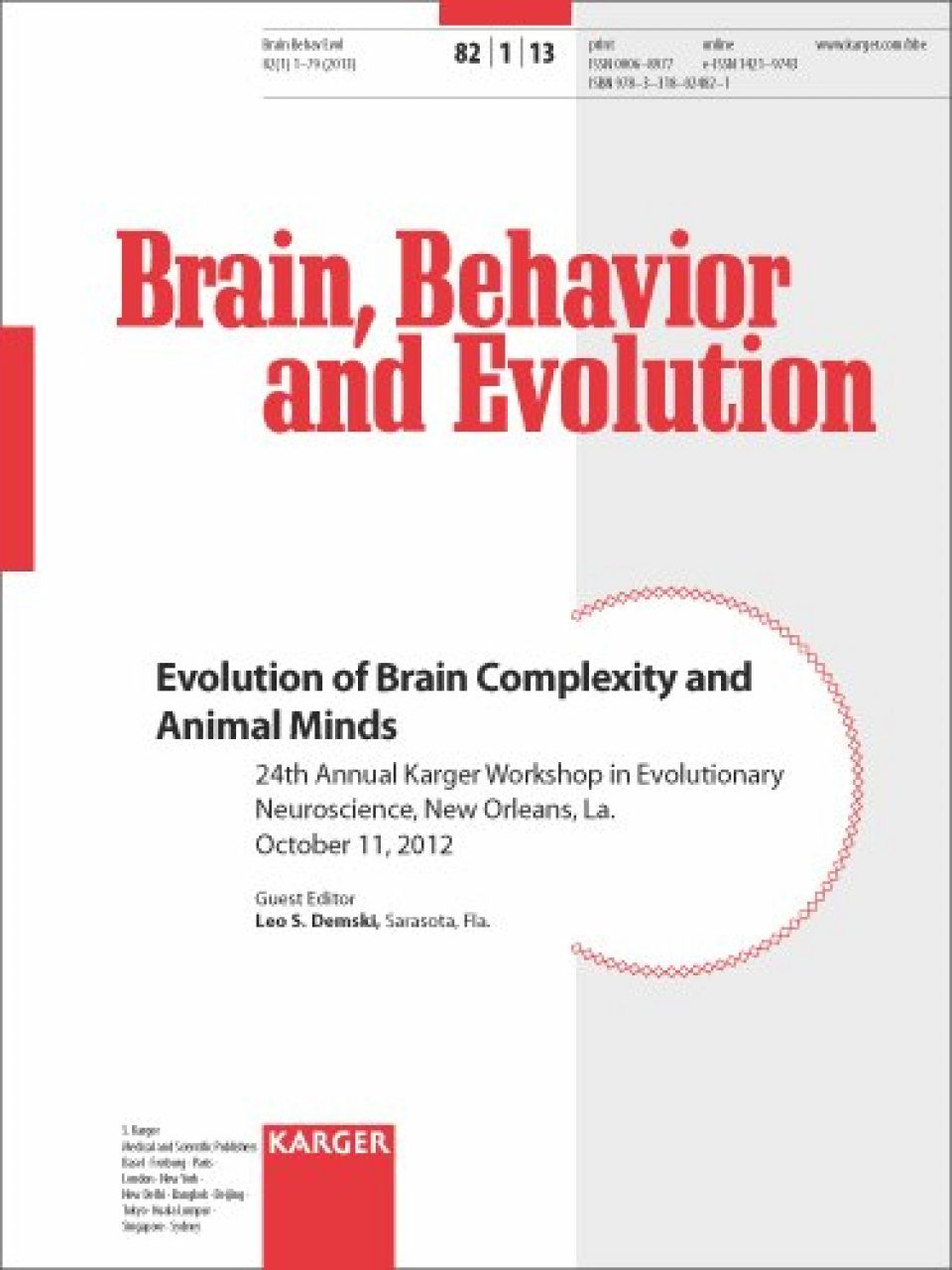 Evolution of Brain Complexity and Animal Minds