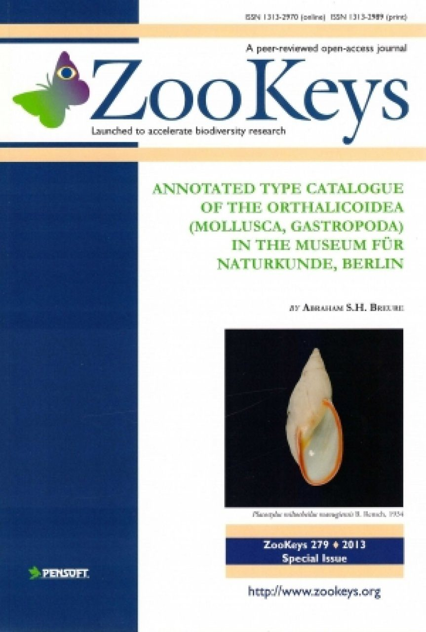 ZooKeys 279: Annotated Type Catalogue of the Orthalicoidea (Mollusca, Gastropoda) in the Museum für Naturkunde, Berlin