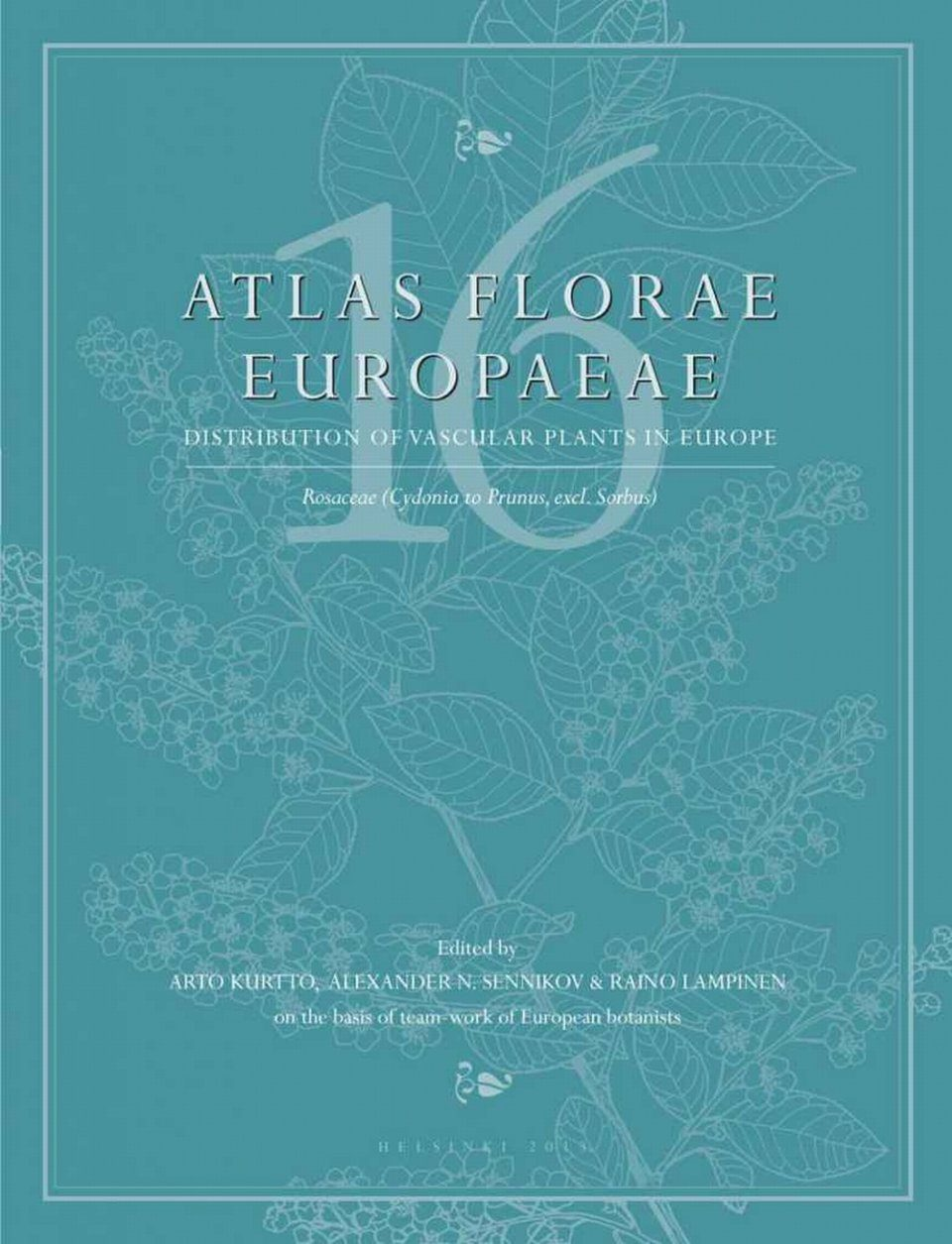 Atlas Florae Europaeae, Volume 16 [English]