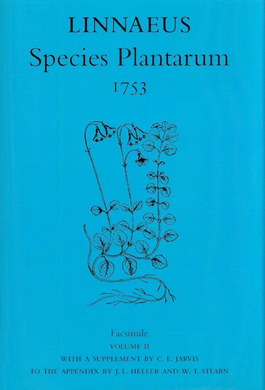 Species Plantarum 1753 Facsimile, Volume 2