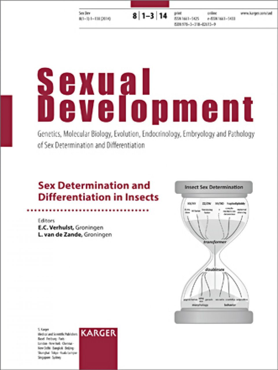 Sex Determination and Differentiation in Insects