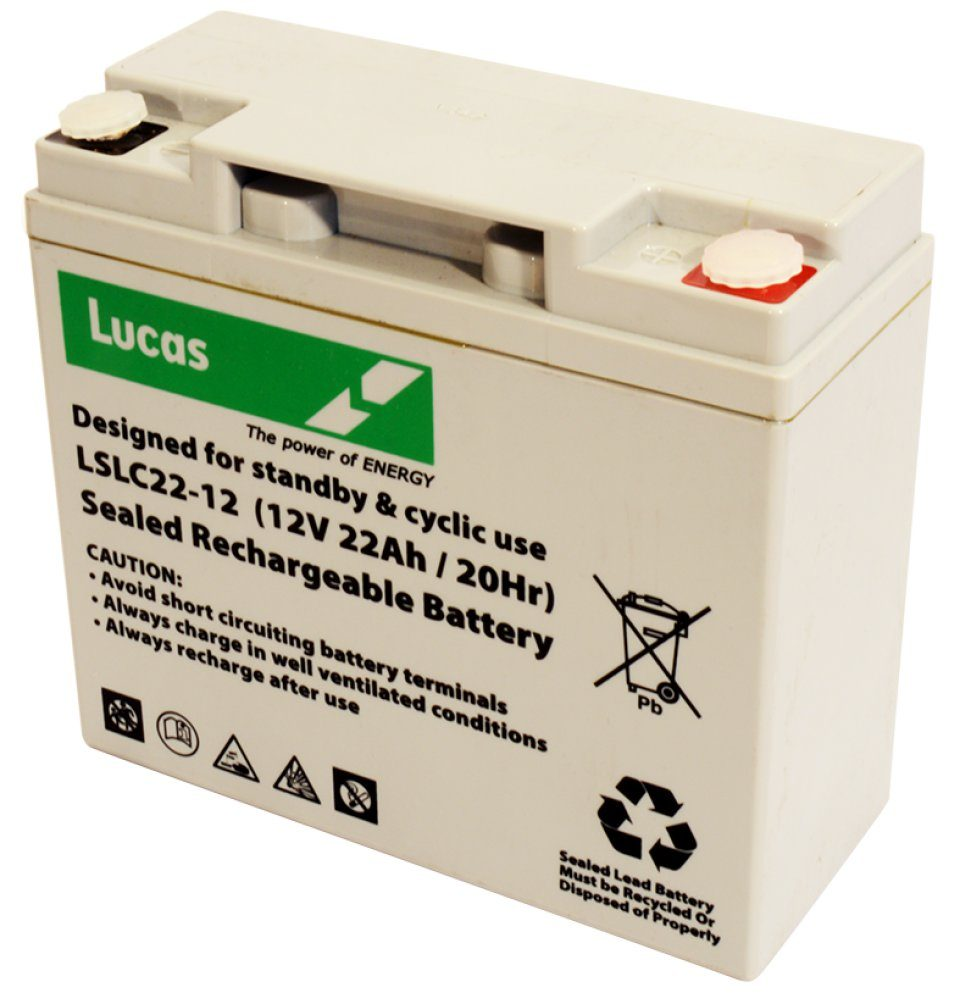 Rechargeable 12V 22Ah Battery