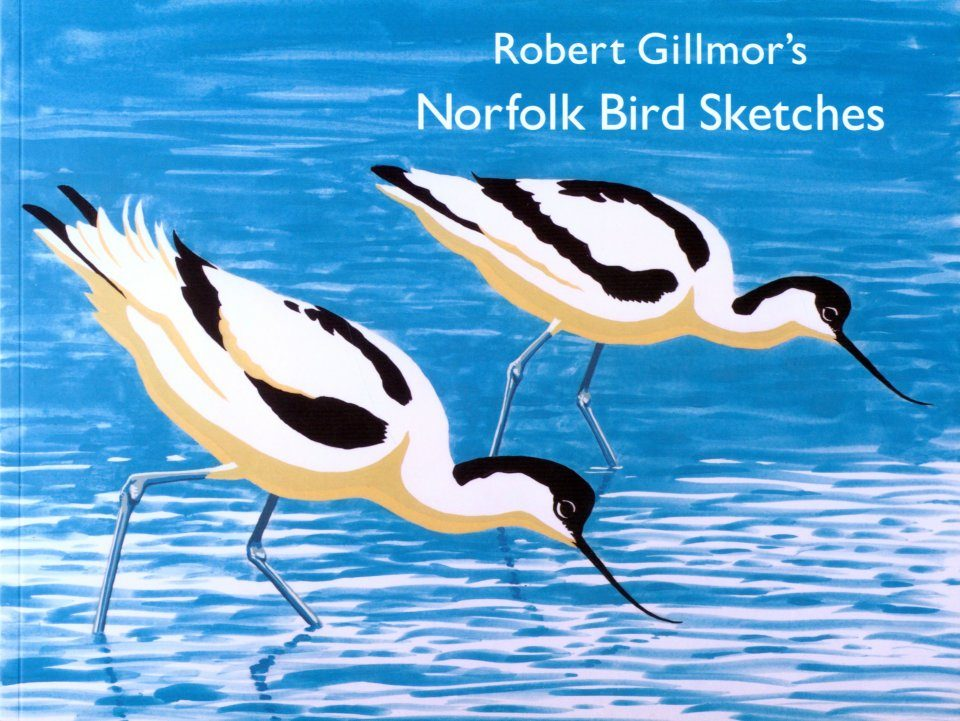 Robert Gillmor's Norfolk Bird Sketches