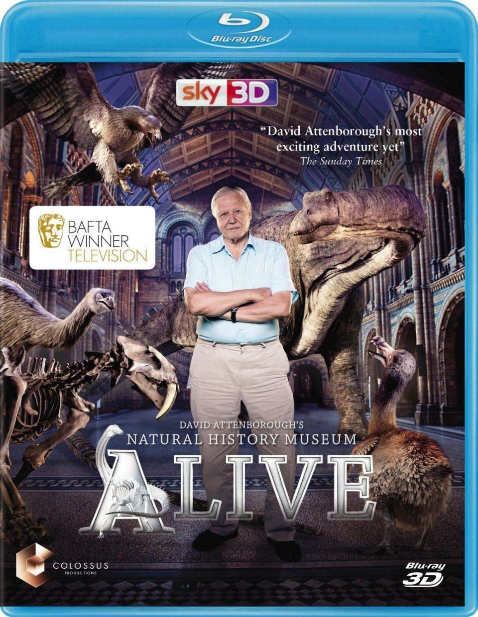 David Attenborough's Natural History Museum Alive (All Regions)