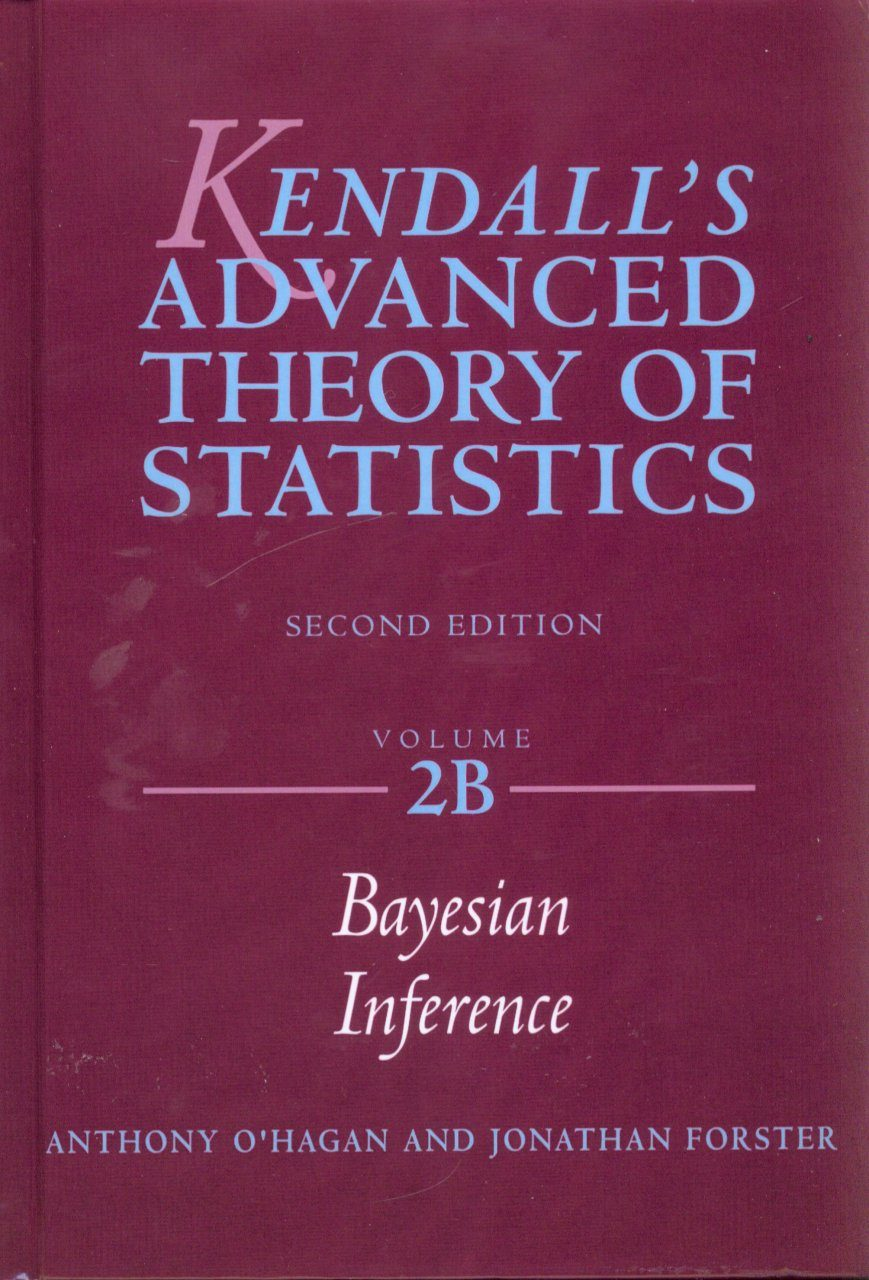 Kendall's Advanced Theory of Statistics, Volume 2B